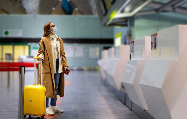 Pandemic traveller