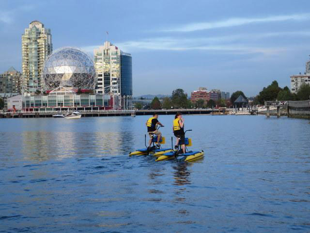 BC Water Bikes Vancouver
