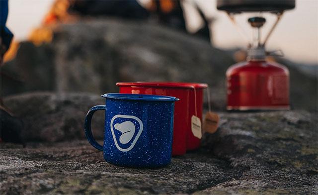 Parks Canada Camp mugs