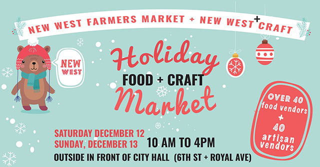 New West Holiday Food + Craft Market
