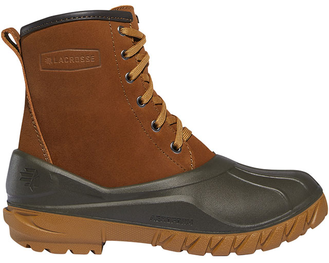 LaCrosse 8 inch Aero Timber Top Shearling Boots