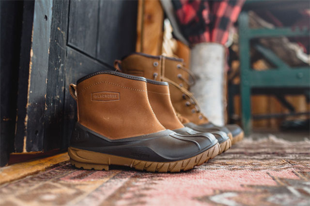LaCrosse Aero Timber Top Shearling Boots