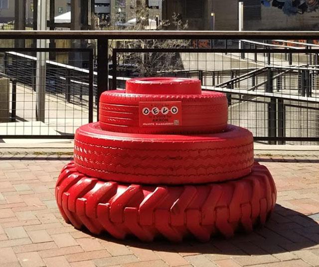Devo energy dome sculpture