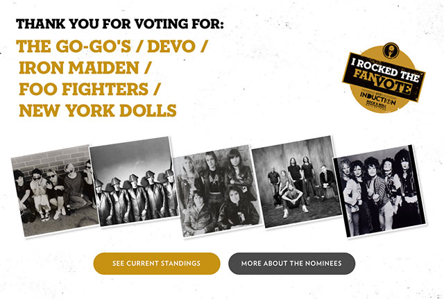 My Vote for Devo