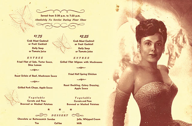 Lena Horne at the Cave