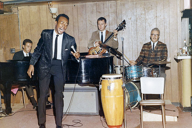 Rudolph Boyce and band at the Living Room