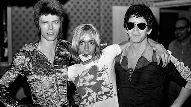Bowie, Pop, Reed