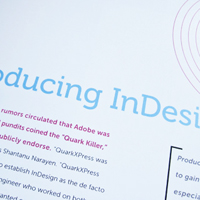 A Decade of InDesign