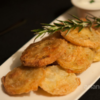 Swallow Tail fried green tomatoes