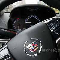 Cadillac ATS steering wheel