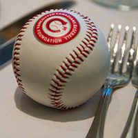 Vancouver Canadians Hot Stove Luncheon table
