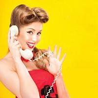 Opera Mariposa's The Telephone banner detail