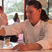 Pastry Chef Eleanor Chow-Waterfall
