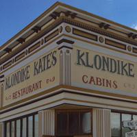 Dawson City Klondike Kate's cabins