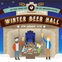 Big Rock Winter Beer Hall, Vancouver