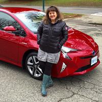 2016 Toyota Prius, Vancouver