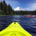 Getting Your Kayak on in Mt. Hood Territory