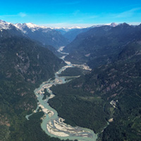 Above Squamish with Sea to Sky Air