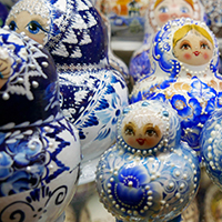 Matryoshka dolls, St. Petersburg