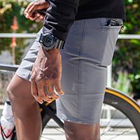 swrve Transverse trouser shorts