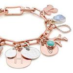 Elegant and Customizable: Monica Vinader Alta Capture Charm Bracelet