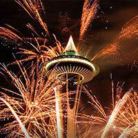 NYE Seattle fireworks