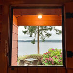 Campbell River Oceanfront Cabin Life at Dolphin's Resort